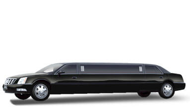 8 Passenger Cadillac Deville Limousine Featured