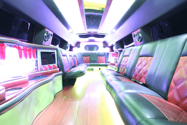 14 passenger hummer SUT limousine interior 2