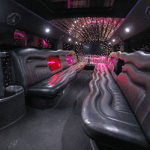 20 Passenger H2 Hummer Limousine interior 3