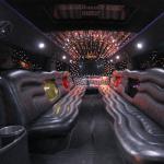 20 Passenger H2 Hummer Limousine interior