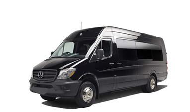 Mercedes Sprinter 14-Passenger Shuttle